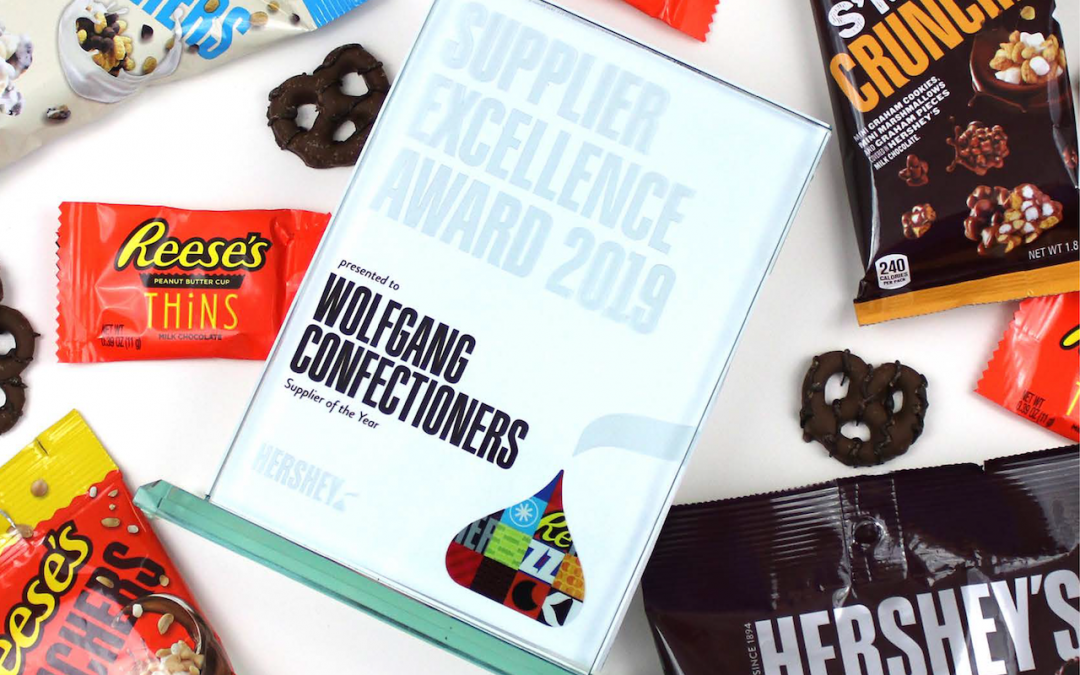 Wolfgang Confectioners Named 2019 Hershey Supplier of the Year