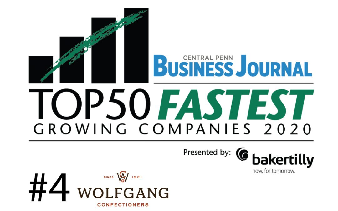 Wolfgang Named 4th Fastest Growing Company in Central Pennsylvania